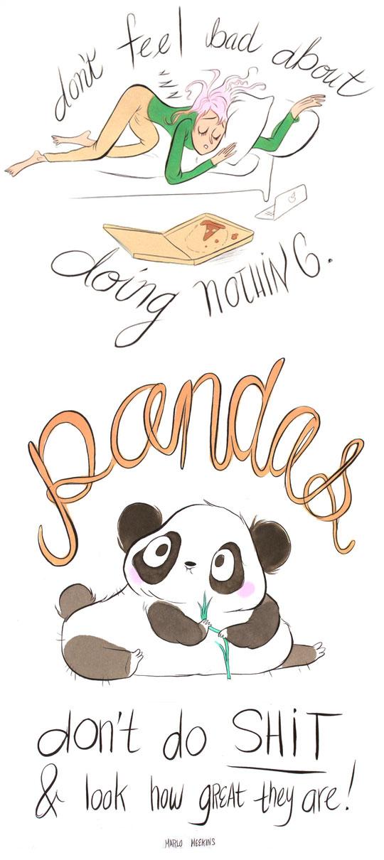funny-cartoon-panda-lazy-sleeping