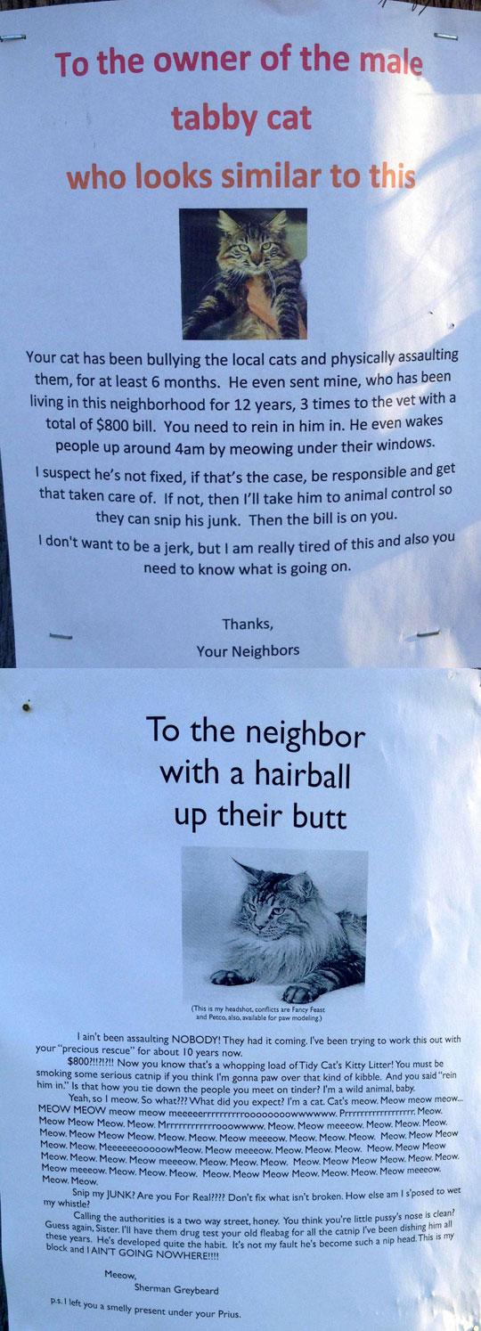 funny-cat-note-neighbor-response