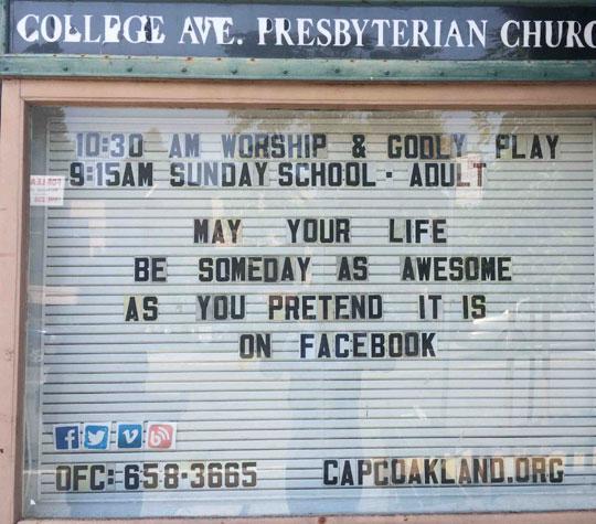 funny-church-sign-Facebook-pretend