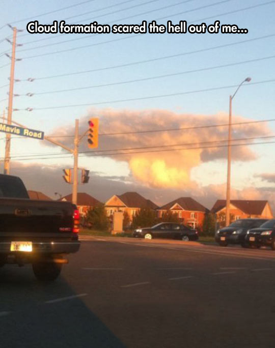 Terrifying Clouds