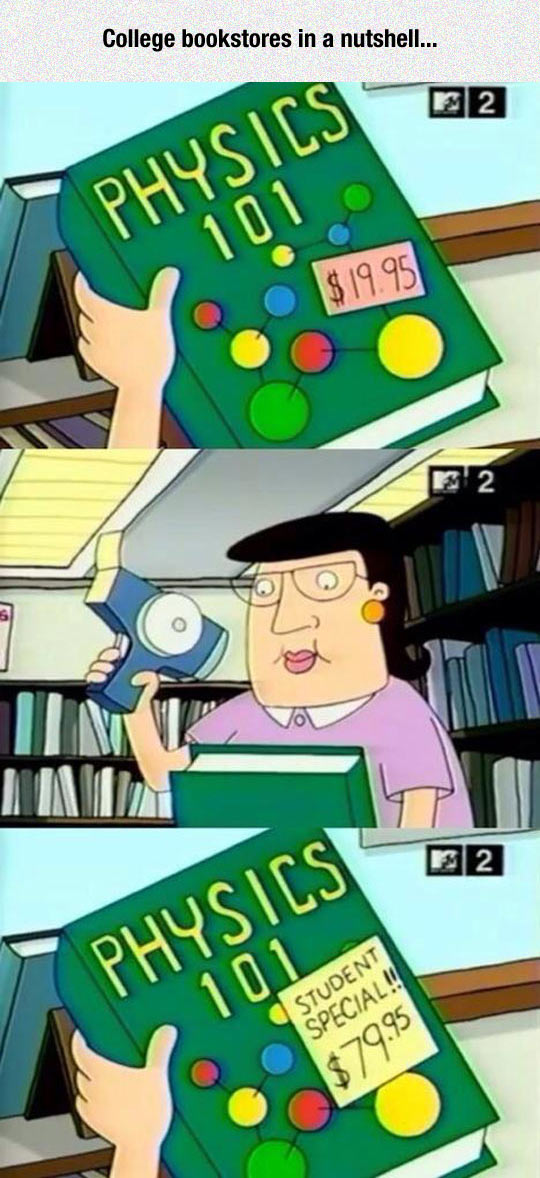 College Bookstores In A Nutshell