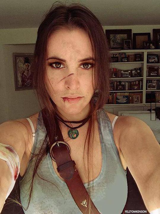 Incredible Lara Croft Cosplay