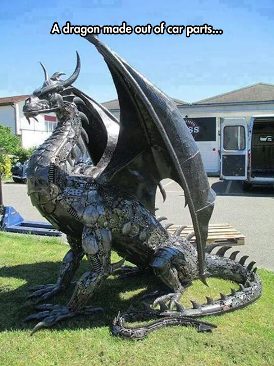 funny-dragon-metal-sculpture-neighbor