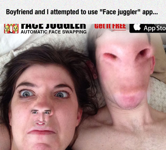 When Face Swap Apps Go Wrong