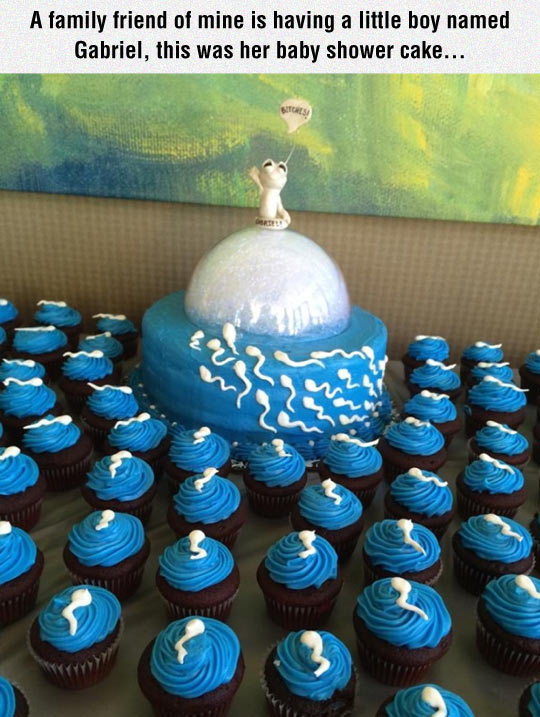 funny-family-cake-cupcake-baby-shower