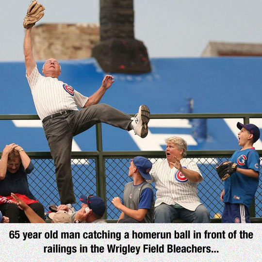 Nice Catch, Old Man