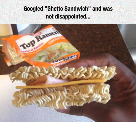 Also Known As A Struggle Sandwich
