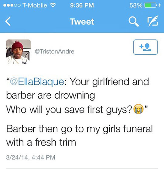 Your Barber Or Your Girl?