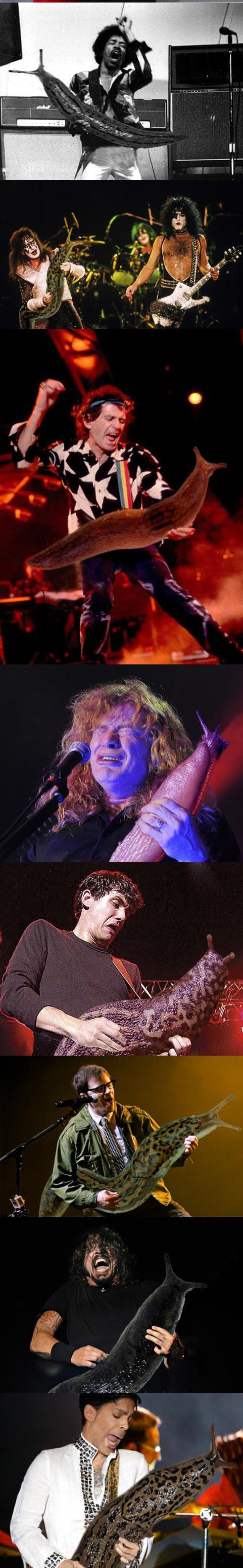 funny-guitar-players-holding-giant-slug-David-Grohl