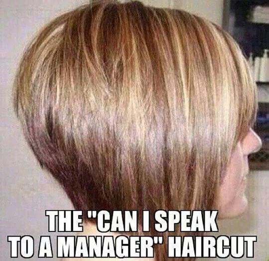 That Evil Haircut