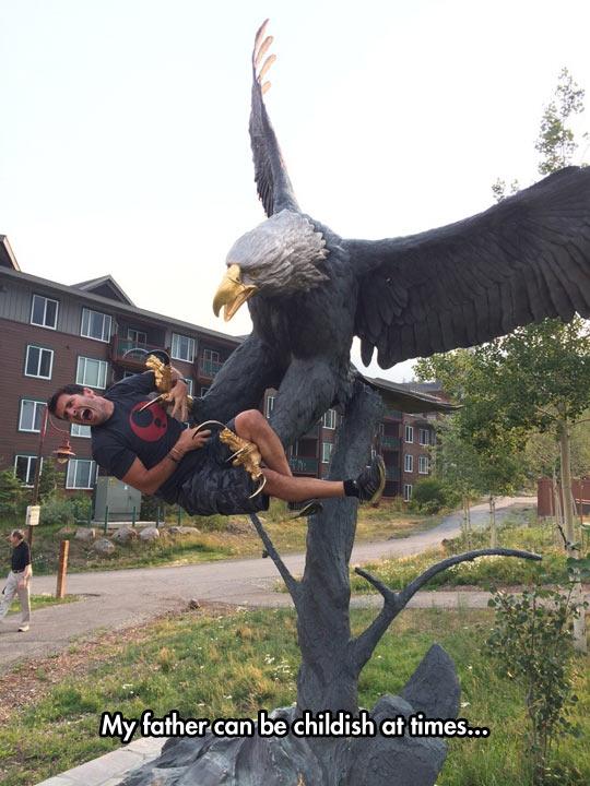 Dramatic Hawk