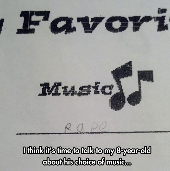 Kids And Their Music Choices