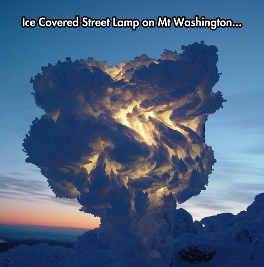 It Seems Like A Frozen Thunder In A Cloud