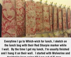 X-Men Lunch Bags