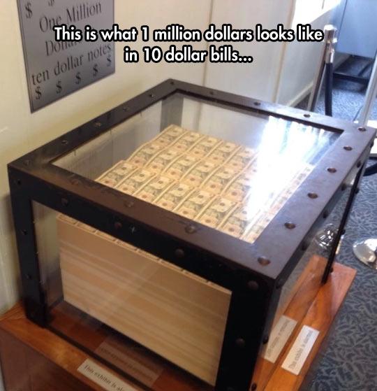 One Million Dollars In Ten Dollar Bills