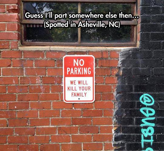 funny-no-parking-sign-warning