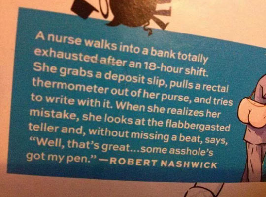 Overworked Nurse Joke