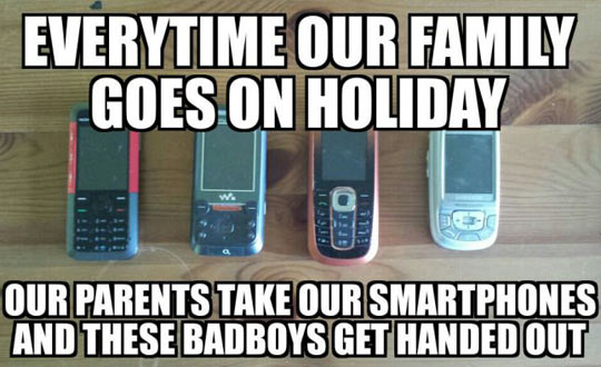 The Phones We Used Years Ago