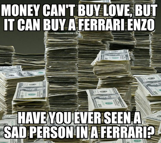 Money Is Happiness