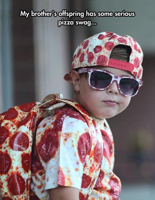 Cool Pizza Swag
