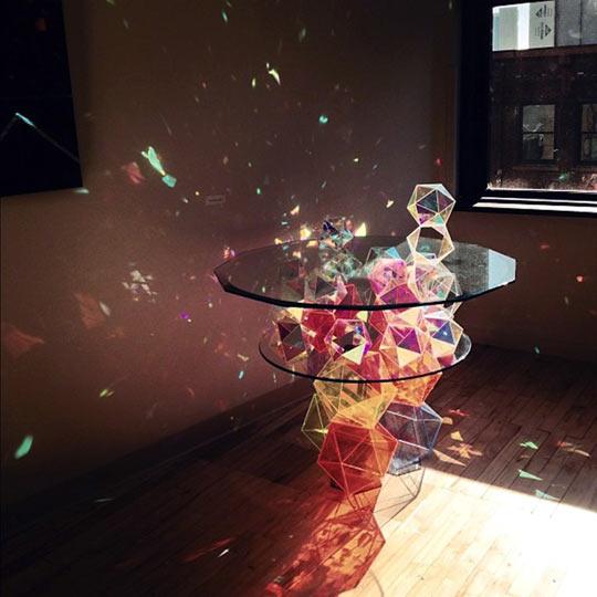 Amazing Prism Table