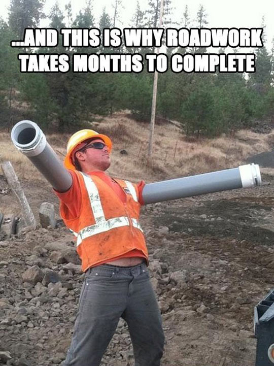Why Roadwork Takes So Much Time