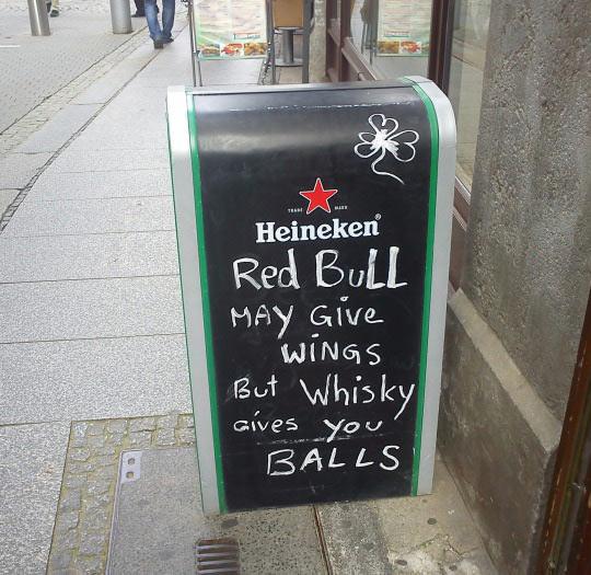 Red Bull Vs. Whisky