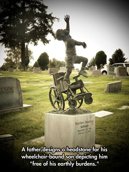 Touching Gesture From A Father To His Son
