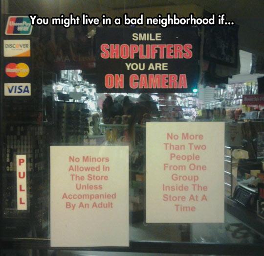 Bad Neighborhood Spotted