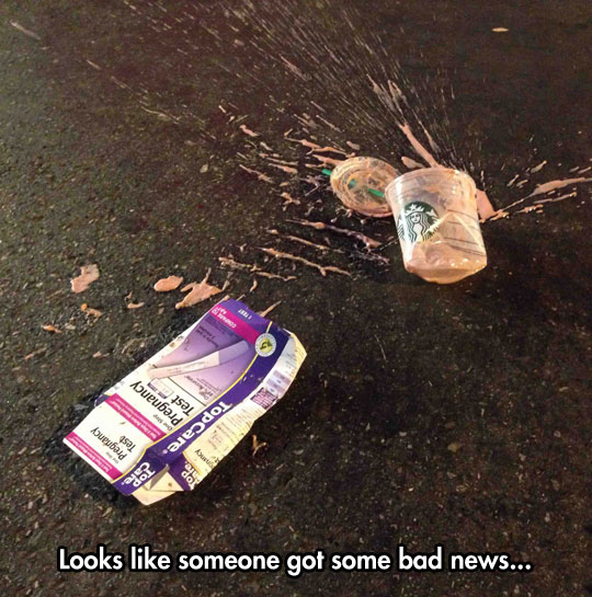 funny-street-pregnancy-test-Starbucks-crushed