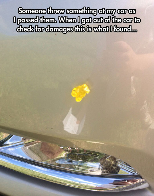 funny-stuck-gummy-bear-car