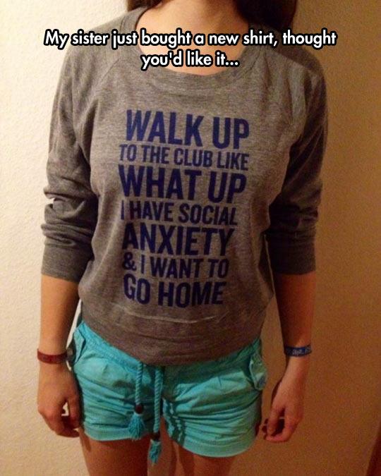 Social Anxiety T-Shirt