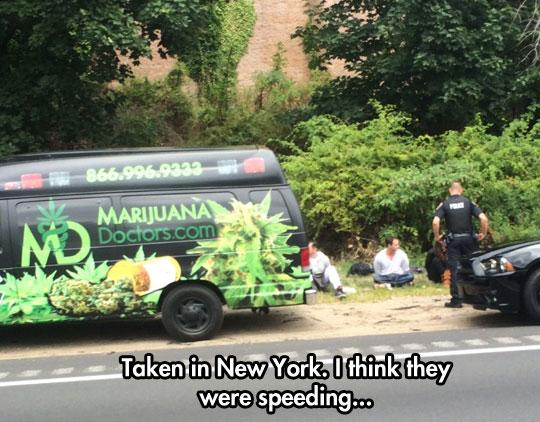 Speeding? Yeah Right...