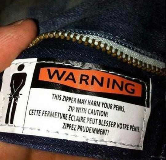 Zip With Caution