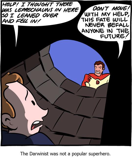 funny-webcomic-Darwin-superhero
