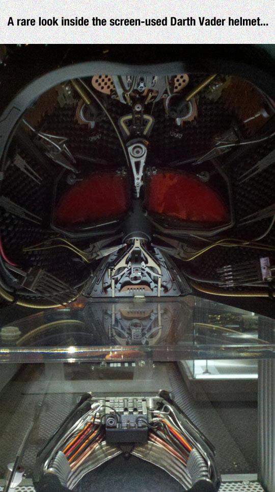 Inside Darth Vader