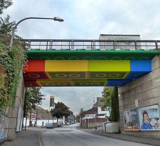 Lego Bridge In Germany