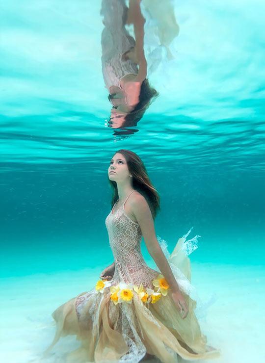 Ocean Flower Girl