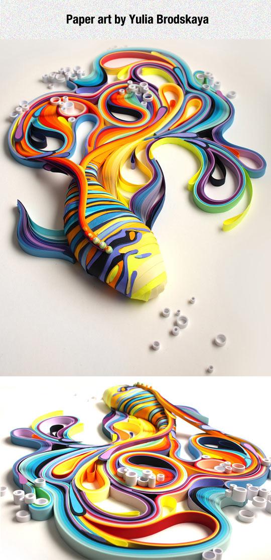 cool-paper-work-Koi-Yulia-Brodskaya