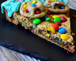 M&M Cookie Cake