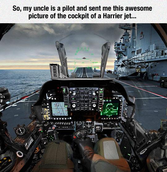 What It Feels To Be Inside A Harrier Jet