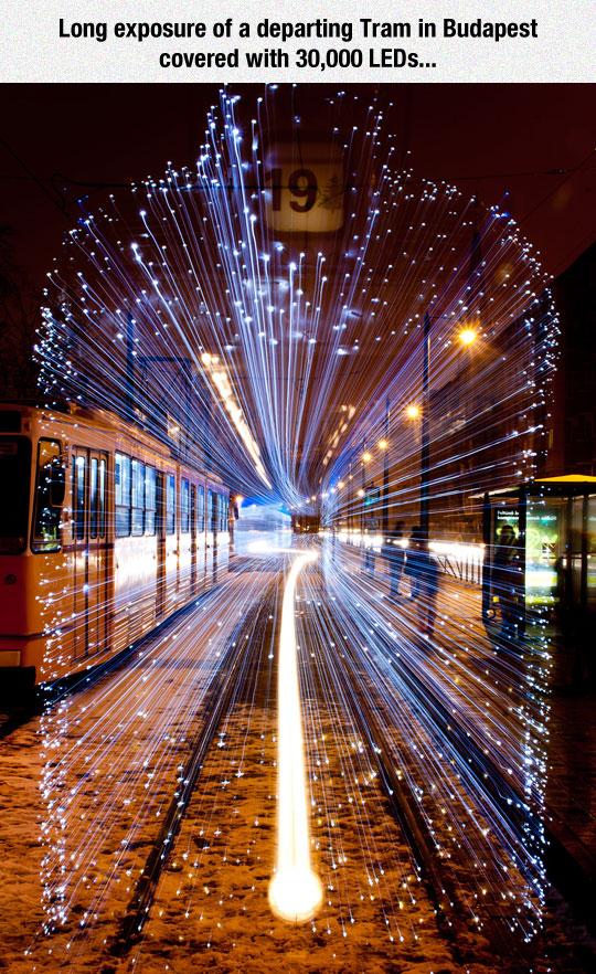 cool-train-lights-Budapest-LEDs