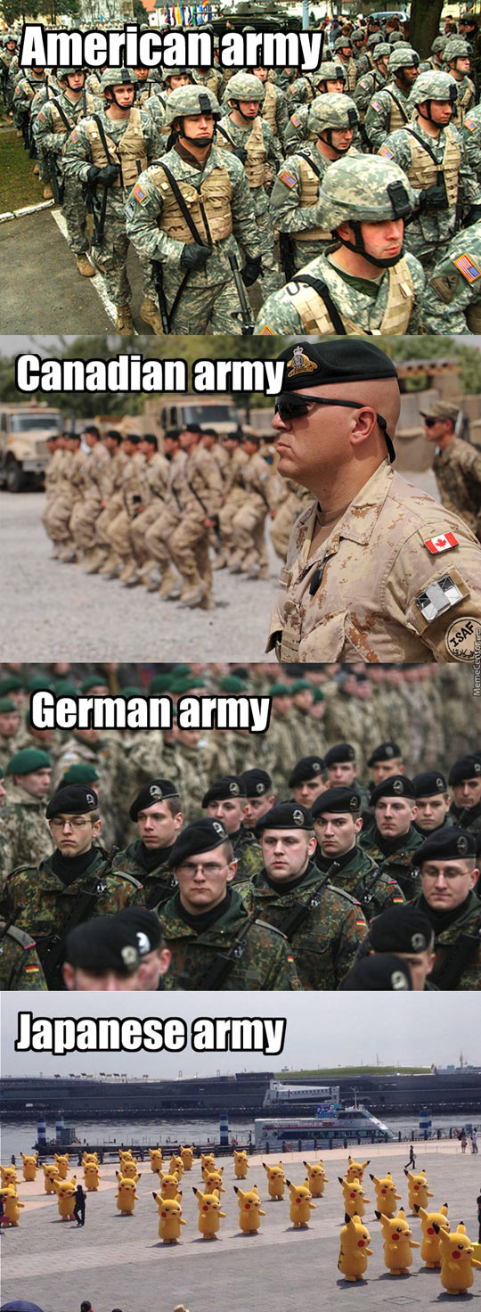 Fear The Japanese Army