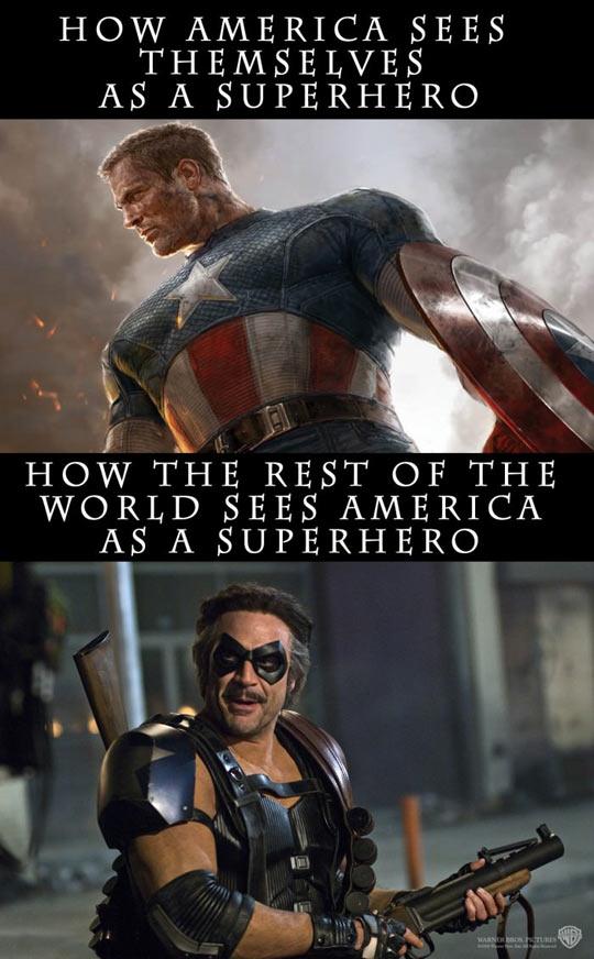 America As A Superhero