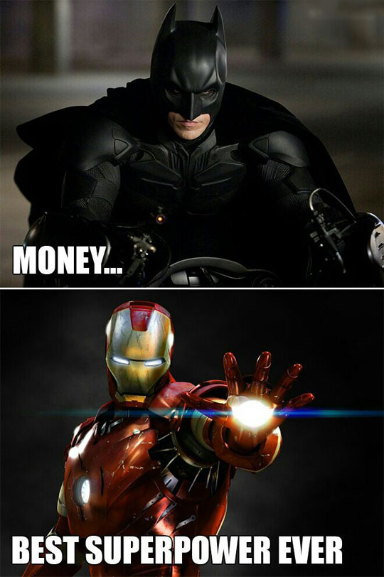 funny-Batman-Iron-Man-money-superpower