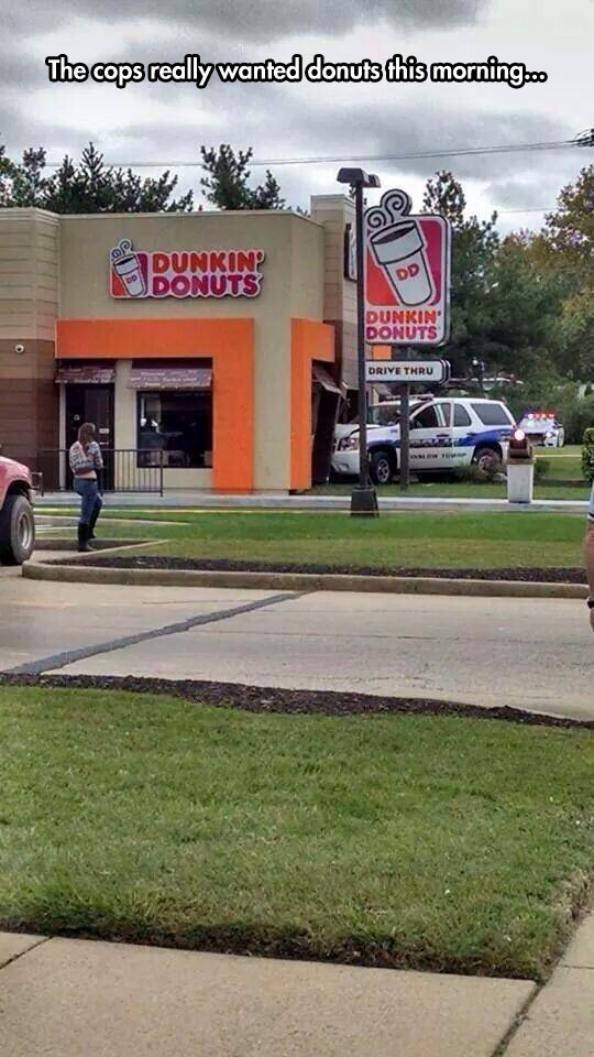 In The Rush For Donuts