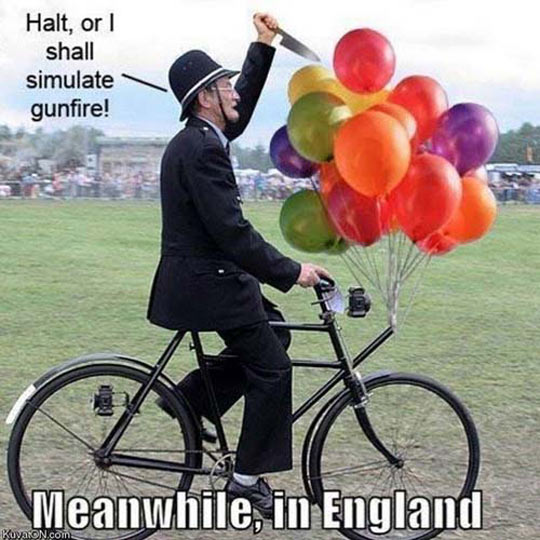 British Police Has Some Resources
