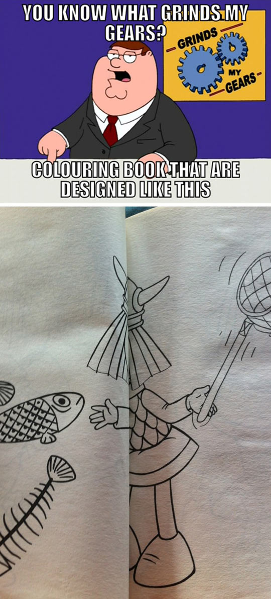 How Is Anyone Supposed To Color This?