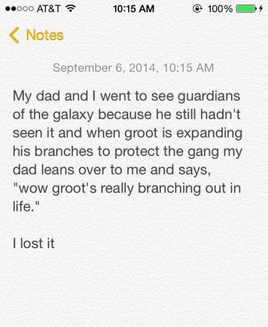 Groot Is Unamused