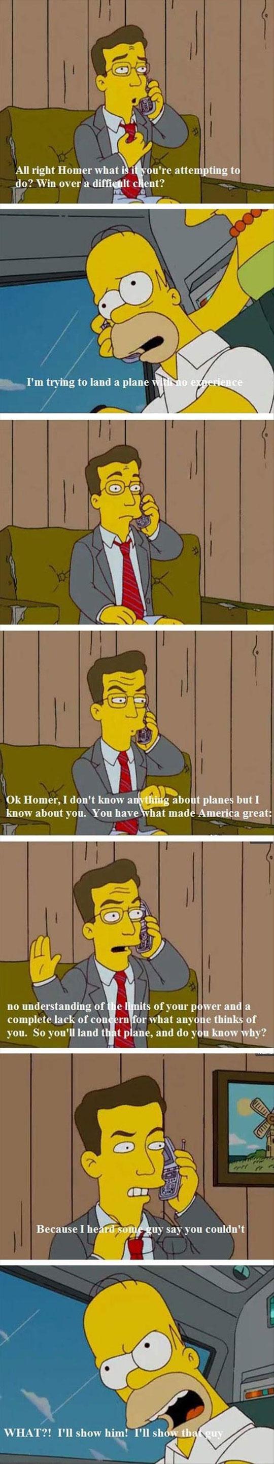 funny-Homer-Simpsons-plane-phone-help